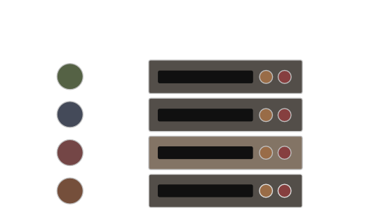 Tracks, loop elements, and loop